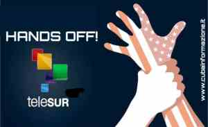 Network in Defense of Humanity says: Defend teleSUR!