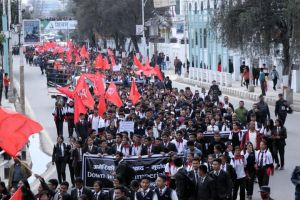 Nepal: Mass march challenges U.S. military scheme