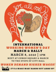 New Orleans: International Working Women's Day March