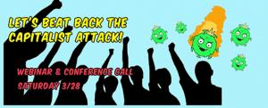 Defending people during coronavirus crisis: Nat'l webinar