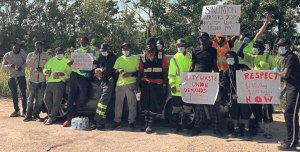 Sanitation workers in New Orleans on strike to demand better conditions and pay