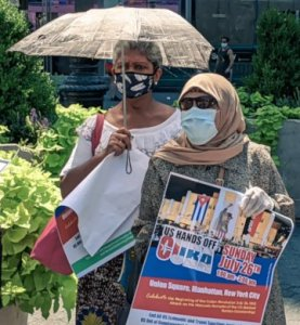 New York rally salutes Cuba's international solidarity