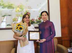 Strengthening cooperation between Vietnamese and Cuban women