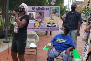 Baltimore #SayHerName protest elevates voices of women vets
