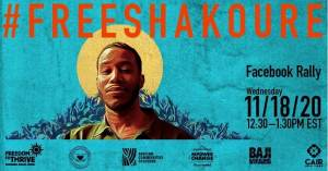 On-line rally & press conference to support ICE detainee Pascal Shakoure Charpentier