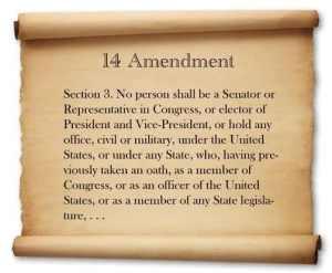 14th Amendment: a tool Congress should use to oust neo-Klan Reps and Senators
