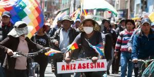Bolivia's coup-plotting President Jeanine Añez to face justice