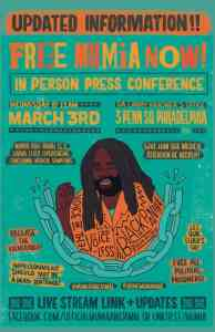 Philadelphia: Free Mumia Now press conference, March 3