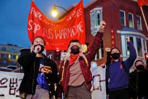 Washington, D.C.: Emergency rally responds to anti-Asian murders