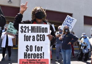 Stop Kroger's grocery shut-downs: 'It's all about greed'