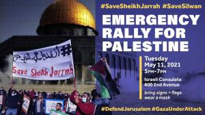 New York City: Mobilization to support Palestinian resistance, return and liberation, May 11