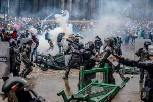 Repression in Colombia: Made in USA