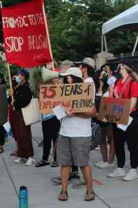 Protest at Philippine Embassy exposes U.S. role in repression