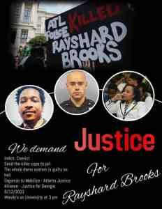 Atlanta: Justice for Rayshard Brooks, June 12