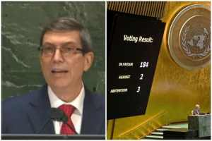 Cuba demands to be left in peace, to live without a blockade
