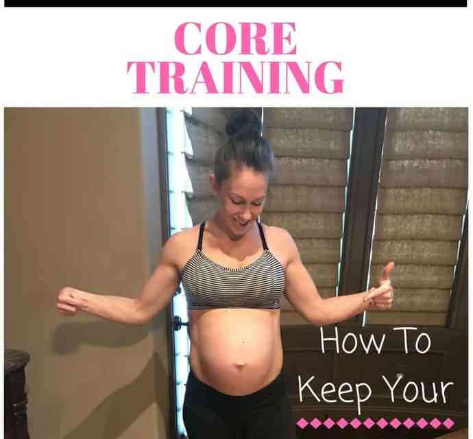 Prenatal Core Exercises to Help Prevent Pregnancy Pooch