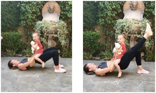 Quick home workouts with kids