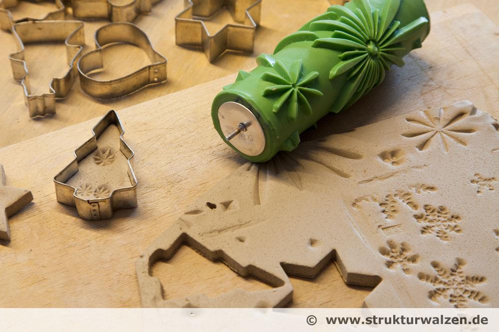 Design Ideen mit den Walzen in Ton oder Keramik prgen