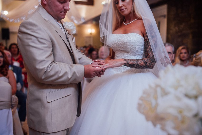 brides wedding ring