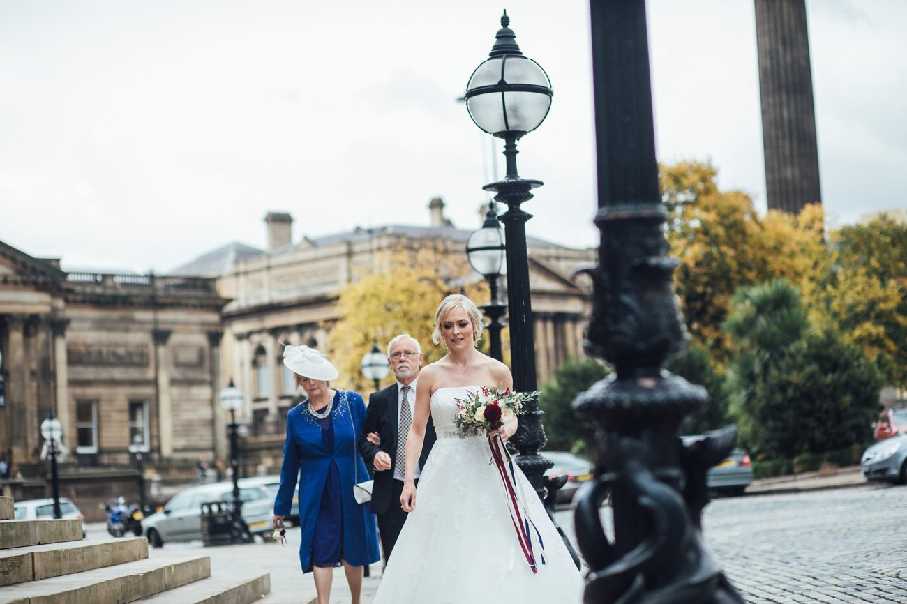 bride at St Georges Hall