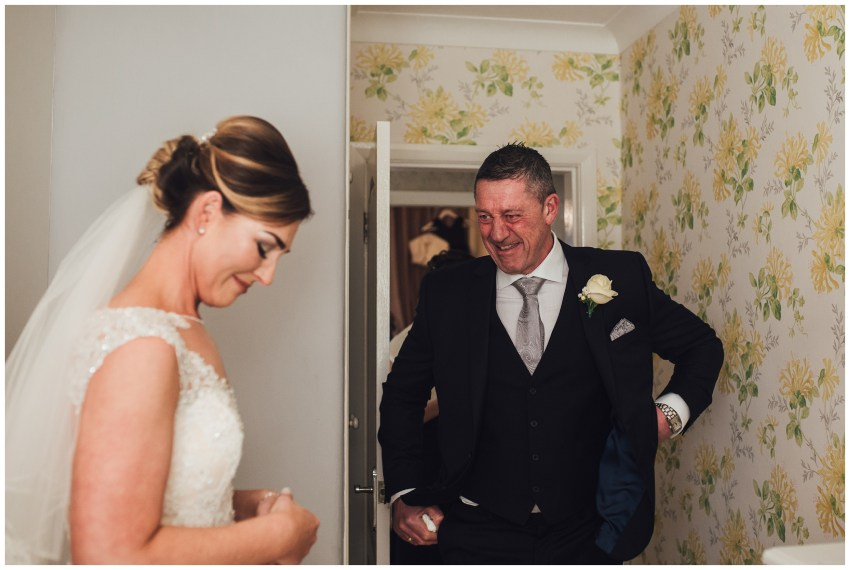 Father Of The Bride - Statham Lodge Wedding Photography