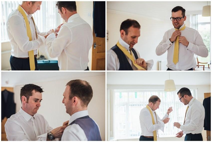 groomsmen preparations