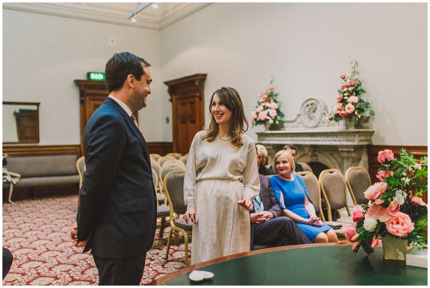 Intimate Liverpool Wedding