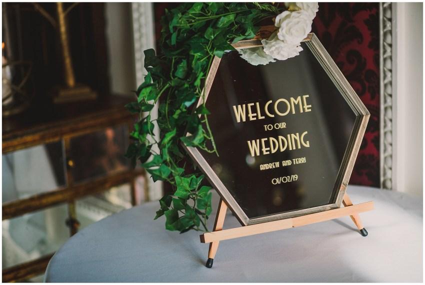 Eaves Hall Wedding