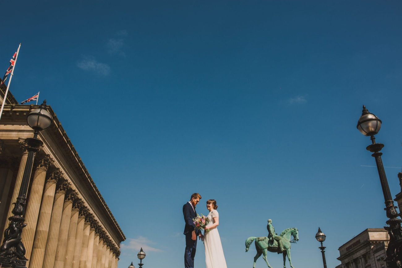 st georges hall wedding front