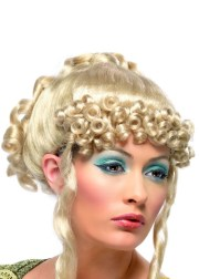 blonde ancient greek goddess wig