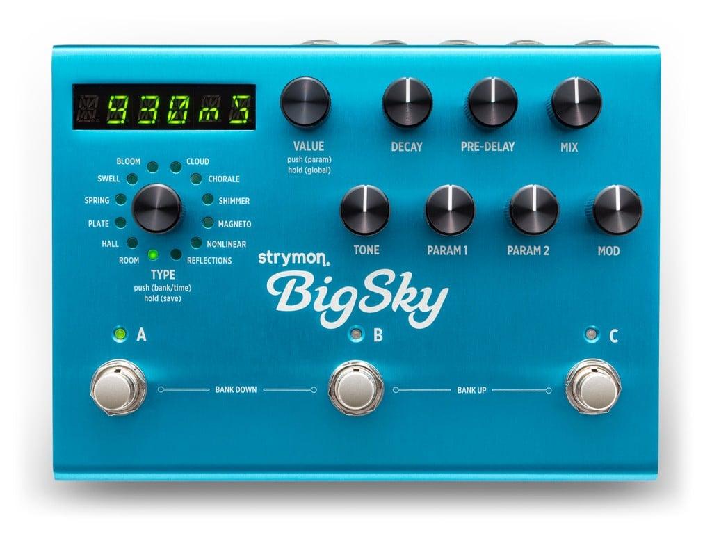 hight resolution of bigsky reverberator reverb pedal