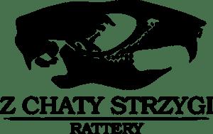 Duże logo hodowla z chaty strzygi rattery