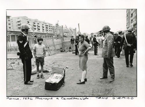 Tano DAmico  Roma 1974 Presepe a Casalbruciato  st foto libreria galleria