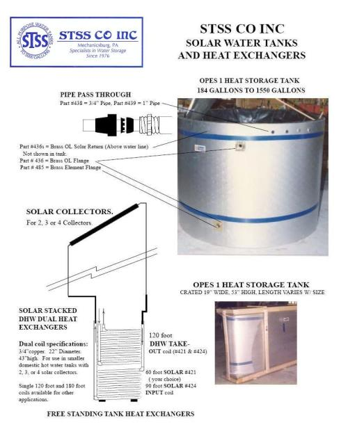 small resolution of stss solar tanks heat exchangers piping diagram
