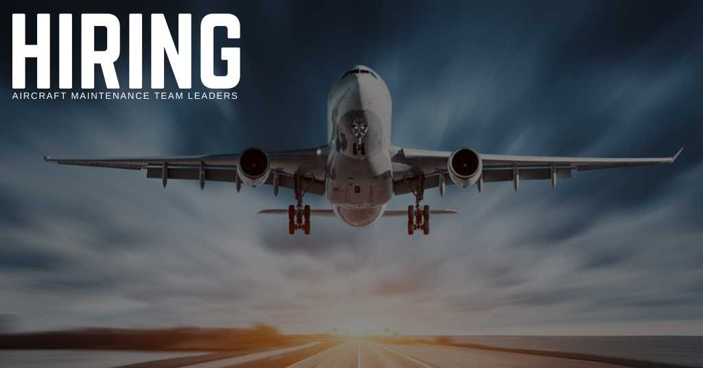 Aircraft maintenance Team Leaders Jobs - STS Technical Services