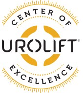UroLift Center of Excellence badge