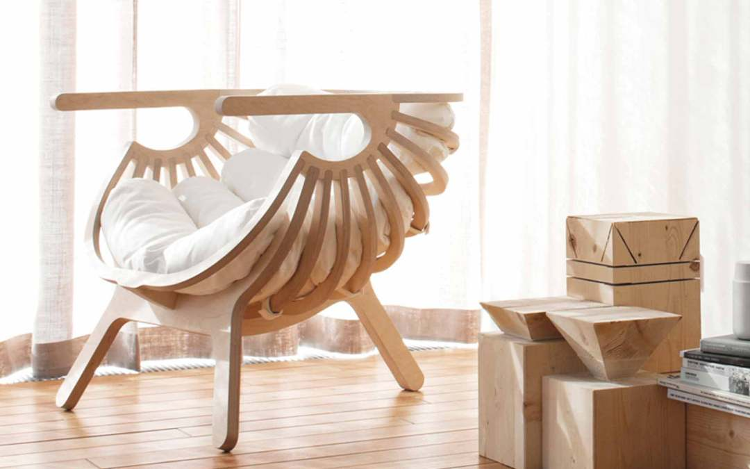 FAUTEUIL SHELL by BRANCA