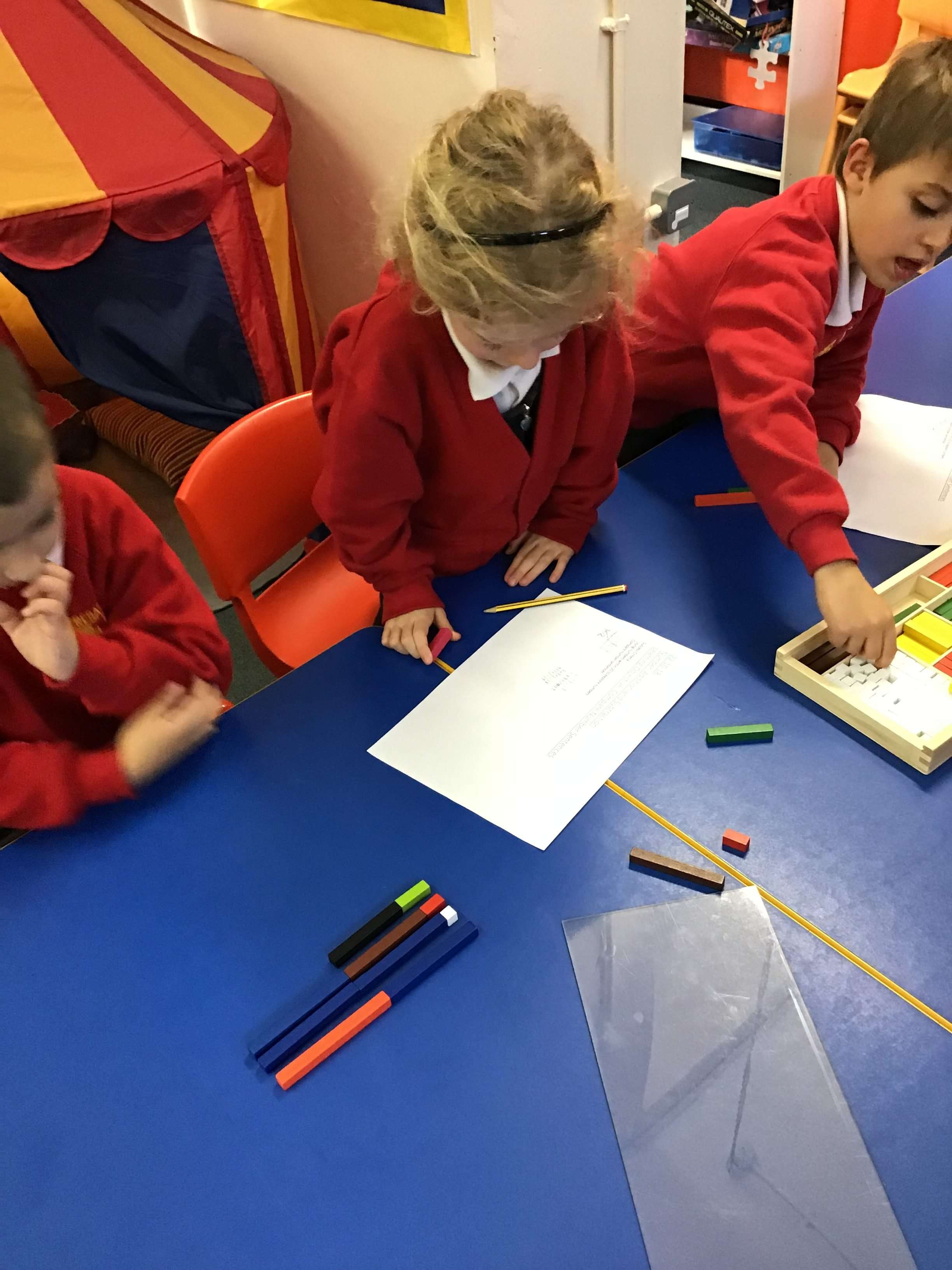 Numeracy Addition Using Cuisenaire Rods Year 2