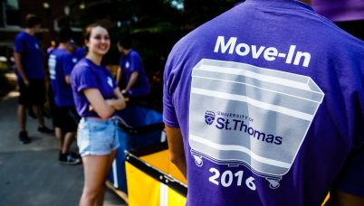 Most of the 1,217 freshmen living on campus moved in on Sept. 2.