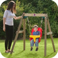 Ref.27438 Wooden Baby swing Free Delivery  outdoor ...