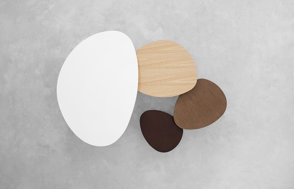 where can i buy a kitchen table cabinet shelf inserts stua eclipse nesting tables with organic shapes