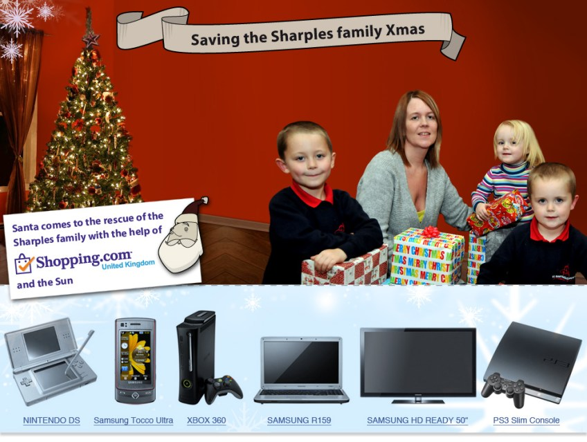 Saving the Sharples family Xmas