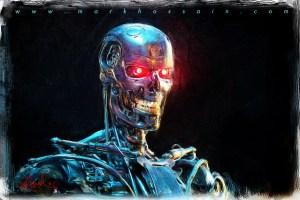 Mark Hossain's Terminator art image