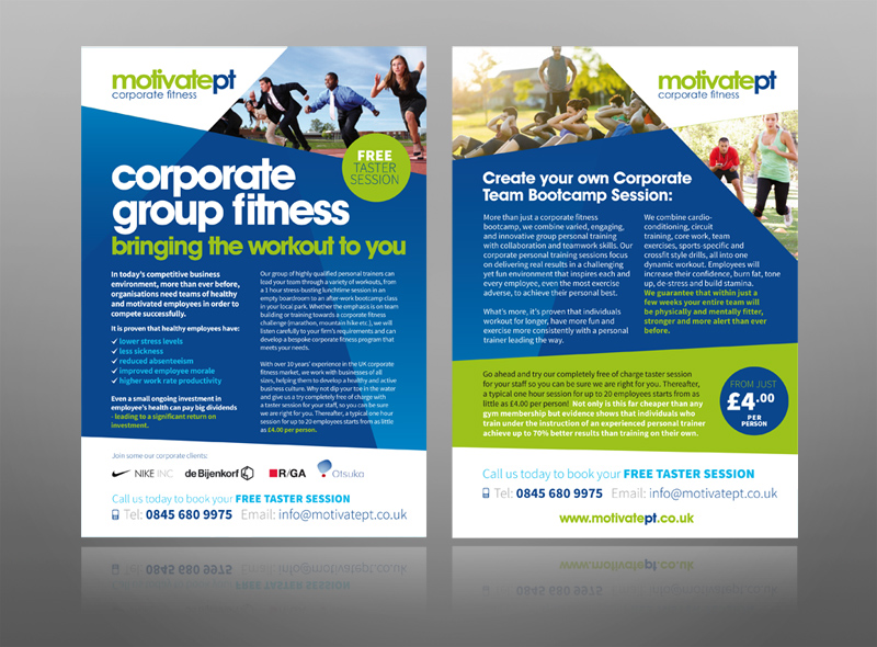 This is what i would call a leaflet - a sample of my leaflet/flyer design and print services