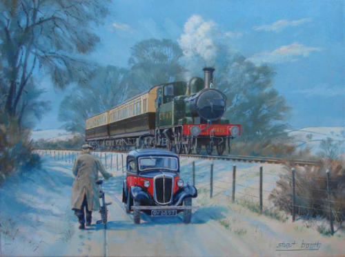 Rail Art Great Western Wcampp Bristol Tramways