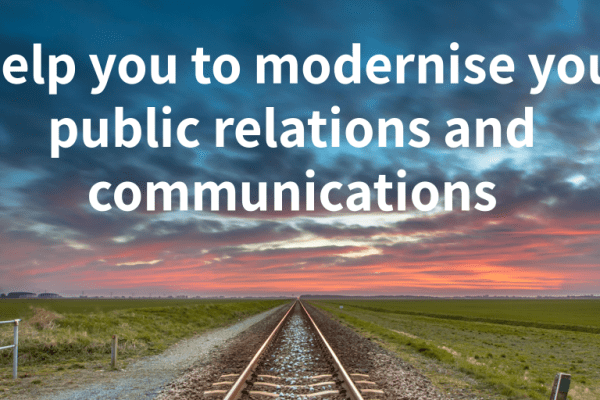 I help you to modernise your public relations and communications photo