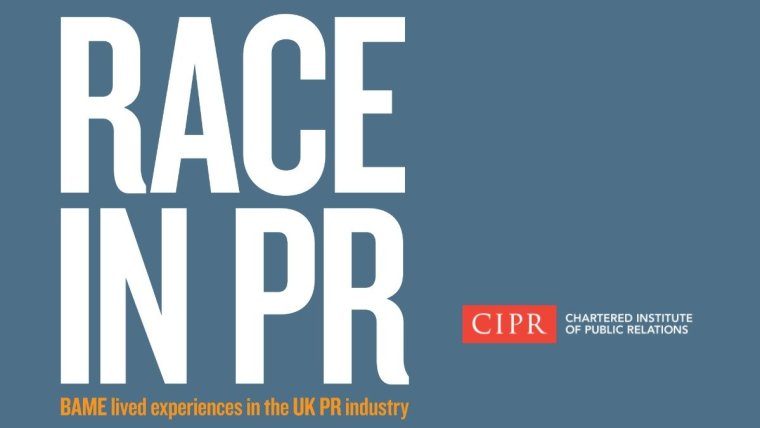 CIPR Race in PR report cover