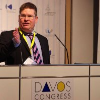 Stuart Bruce, moderator of the Davos World Communication Forum photo