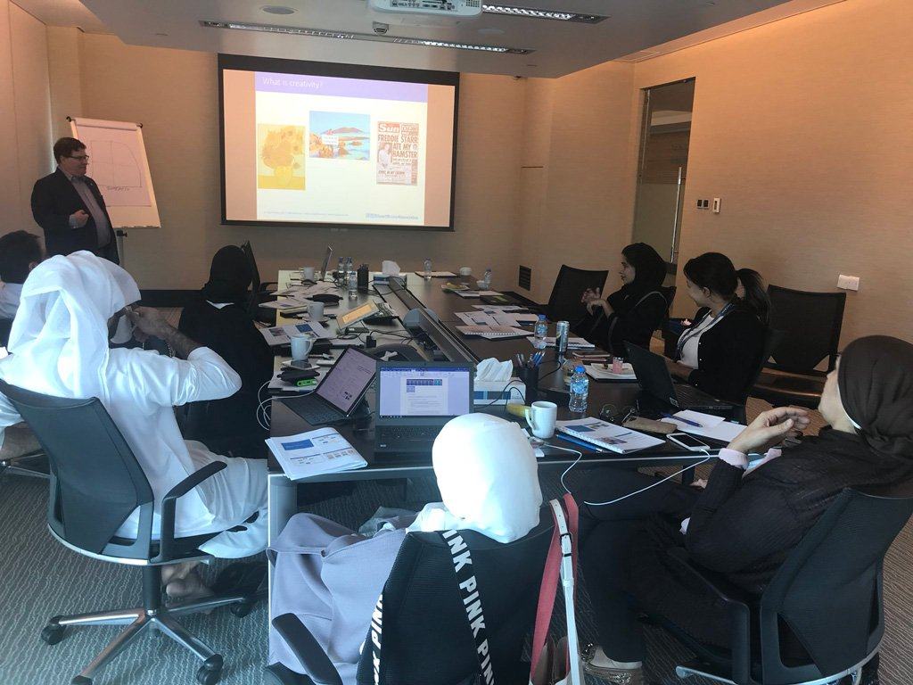 In-house PR training photo