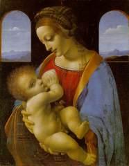 'Madonna Litta' by Leonard da Vinci